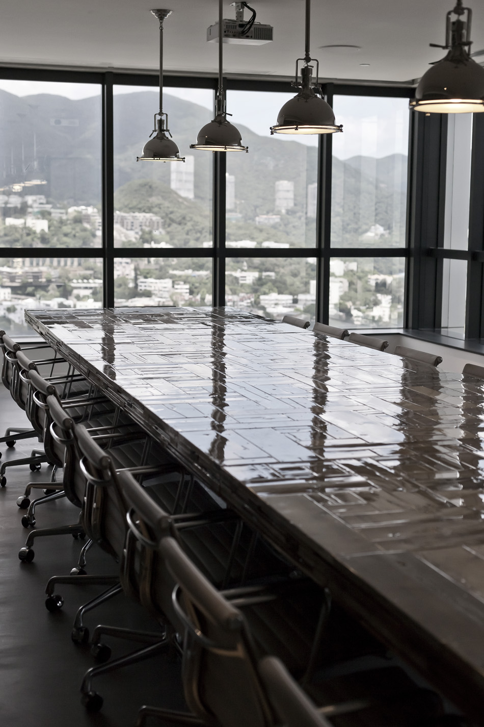 Hk open office space Austin Homedit Ois Mitchel Squires Associates Architecture Interior Design