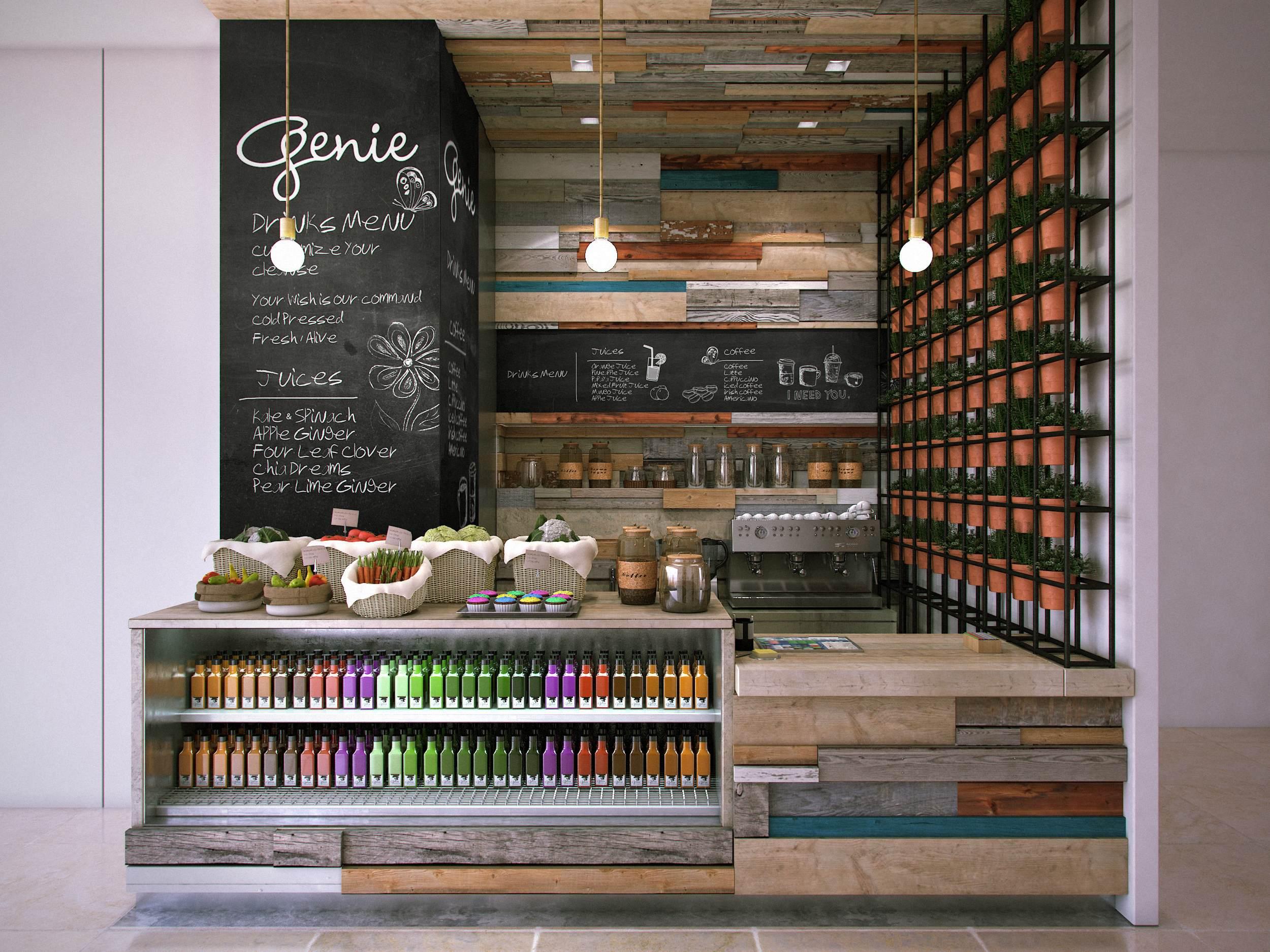 Genie Juice Bar Mitchel Squires Amp Associates Architecture Interior Design