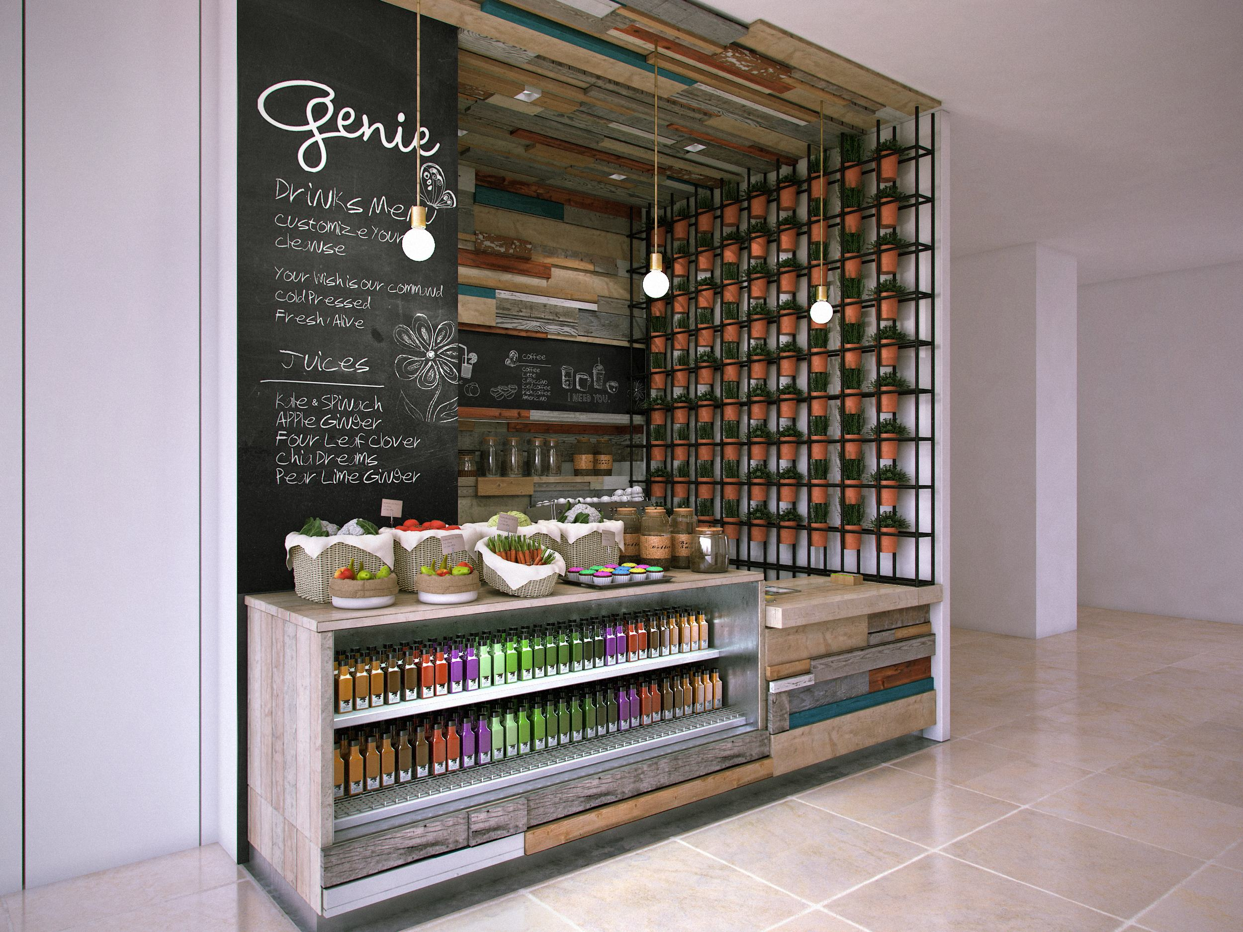 Genie Juice Bar Mitchel Squires Associates Architecture